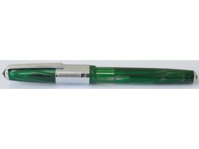 Wality 58C Eyedropper Fountain Pen, Green