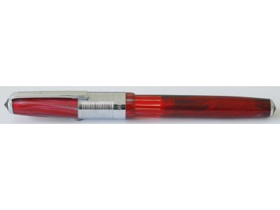 Wality 58C Eyedropper Fountain Pen, Red