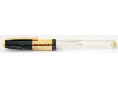 Wality 70TG Eyedropper Fountain Pen, Blue