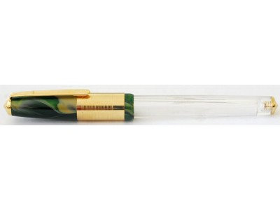 Wality 70TG Eyedropper Fountain Pen, Green