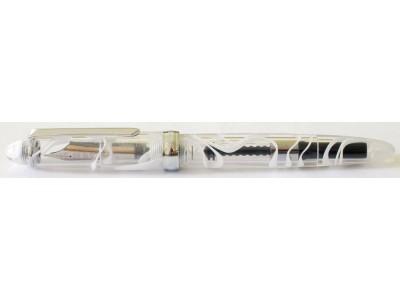 PenBBS No. 308 Cartridge/Converter/Eyedropper Fountain Pen, Smog