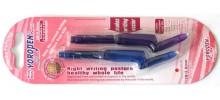 Yoropen Pencil, Twin Pack, Blue/Purple